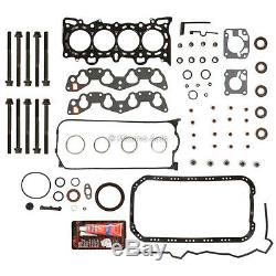 Moteur Reconstruire Kit Révision Fit 92-95 Honda CIVIC Del Sol 1.6 D16z6