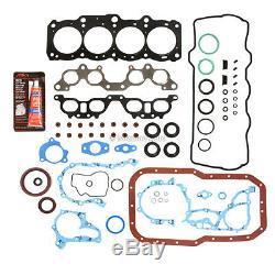 Moteur Reconstruire Kit (avec Capteur Port) Fit 98-01 Toyota Camry Solara 2.2 Dohc 5sfe