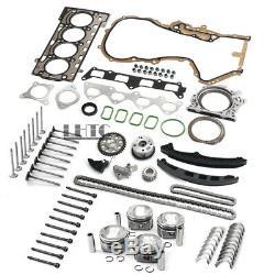 Moteur Reconstruire Overhaul Kit De Réparation Pour Vw Golf Jetta Audi 1.4 Tfsi Blg Cavd Cth