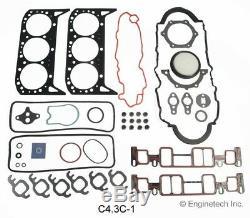 Moteur Reconstruire Overhaul Kit Pour 1999-2006 Chevrolet 262 V6 Vortec 4.3l Vin W, X