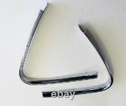 Nouveau! 1969 1970 Moulages De Fenêtre Mustang Pair Quarter Chrome Mach Boss Fastback