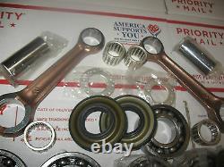 Nouveau Skidoo 670 Crankshaft Reconstruire Kit Crank Shaft Réparation Rotax Cylindre Jumeau Mxz