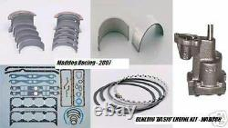 Olds 455 Engine Kit Rings+rod/main Bearings+gaskets+oil Pump Specify Sizes