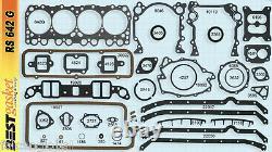 Oldsmobile/olds 394 Kit Moteur Joints+rings+4-bbl Pistons+bearings 1962-64