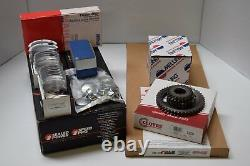 Pontiac 400 Master Reconstruire Kit Moteur Forged Pistons+dbl Timing+stage 2 Perf Cam