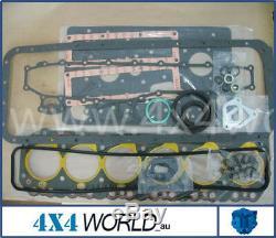 Pour Toyota Landcruiser Hj60 Série Joint Moteur Kit 2h 84