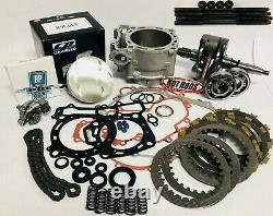 Raptor 660 Big Bore Stroker Motor Engine Rebuild Kit Oil Pump 719 Complete Redo