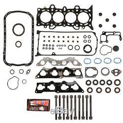 Reconstruire Engine Overhaul Kit Fit 01-05 Honda CIVIC Ex Hx 1.7 Vtec D17a2 A6