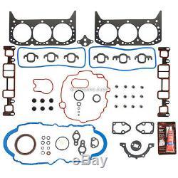Refonte Du Moteur Rebuild Kit Fit 96-98 Gmc Chevrolet Astro 4.3l Ohv Express