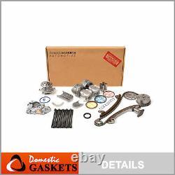 S'adapte 00-06 Toyota Corolla 1.8l Master Overhaul Engine Rebuild Kit Vvtl 2zzge