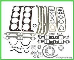 Sb Chevy 350 5.7l Maître Reconstruire Kit Sans Pistons / Anneau Stage3 67-85 Arbre À Cames
