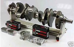 Sbc Chevrolet 406 Ensemble Scat Manivelle 6 Tiges Wiseco De 4.165 Dh Pistons 400mj