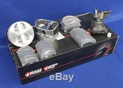 Sbc Chevy 350 5.7l Stage 3 - Kit De Reconstruction Du Moteur Principal À Haute Performance - Pistons D'arbre À Cames