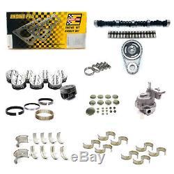 Sbc Chevy 350 - Kit De Reconstruction Du Moteur Principal Haute Performance, Étape 3, Stade 3 - Pistons