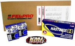 Sbc Chevy 350 Small Block Re-ring Kit 4.000 Anneaux Roulements & Joints Joints Std