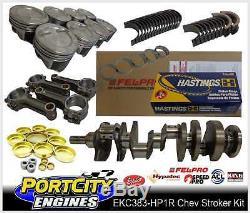 Scat Stroker Moteur V8 Kit Chev Small Block 350 383 5.7 I Beam Bielles