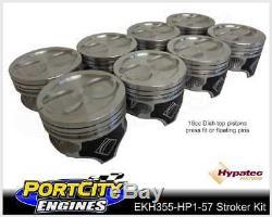 Scat Stroker Moteur V8 Kit Holden 308 355 Red Torana Lh LX 5.7 Hypatec Pistons
