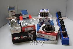 Stage-2 Master Kit Moteur Ford 289 302 1963-82 Aveccam+hyper Plat Top Pistons+ring