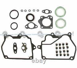 Tout Nouveau 93-97 Toyota Corolla 1.6l 4afe Dohc 16v Full Gasket Set Re-ring Kit