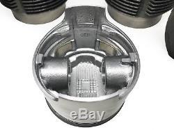 Vw Beetle 1600cc Kit De Reconstruction De Moteur 85.5 Pistons Têtes Joints Joints De Tige Tubes
