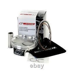 Wiseco Kawasaki Kx250f 2007-2008 Top Bottom Engine Rebuild Crank Kit Piston Gsk