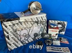 Wiseco Top Bottom End Honda 2002-2008 Crf450r Kit De Reconstruction De Moteur Crank Piston