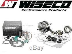 Wiseco Top & Bottom End Kit De Reconstruction De Moteur Rmz 450 Suzuki 2005-2007 Manivelle / Piston