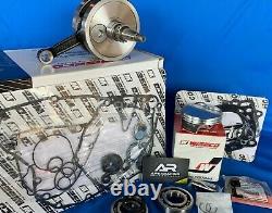 Wiseco Yz250f 2005-2007 Top Bottom Engine Rebuild Kit Crankshaft Piston Gaskets
