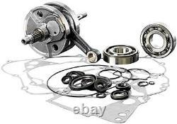 Wiseco Yz450f 2006-2009 Top Bottom Engine Rebuild Kit Crankshaft Piston Gaskets