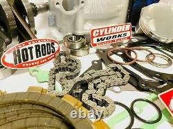 Yfz450r Yfz 450r Stock Engine Motor Rebuild Kit Complete Top Bottom End Manivelle